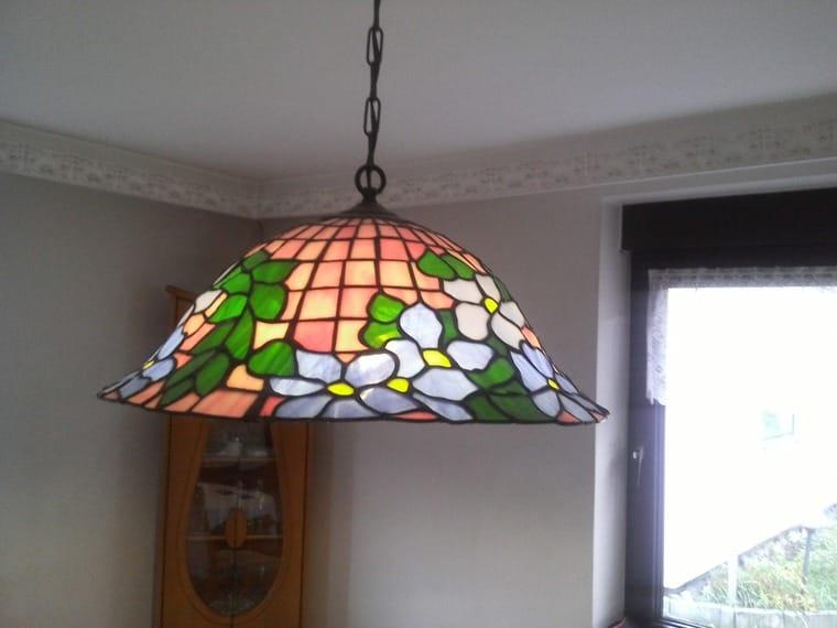 Handgearbeitet tiffany lampen aus original aachen glas