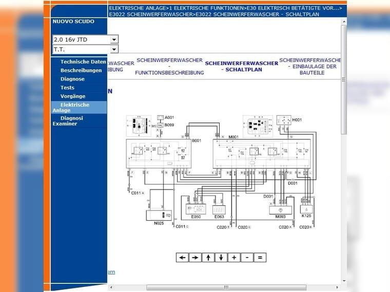 Fiat Scudo typ 270 Werkstatt Handbuch... (Milano) - Fiat Zubehör ...